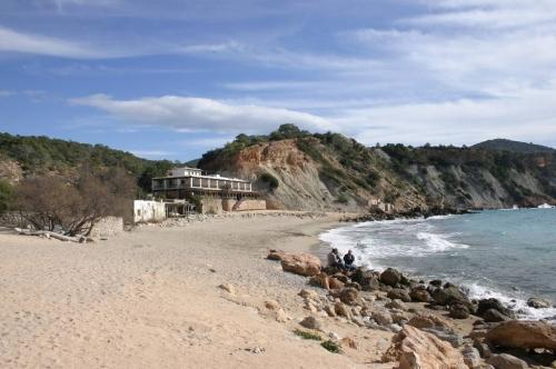 Strand von Cala d´hort Iiza