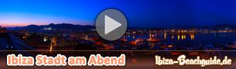 Ibiza Hafen am Abend
